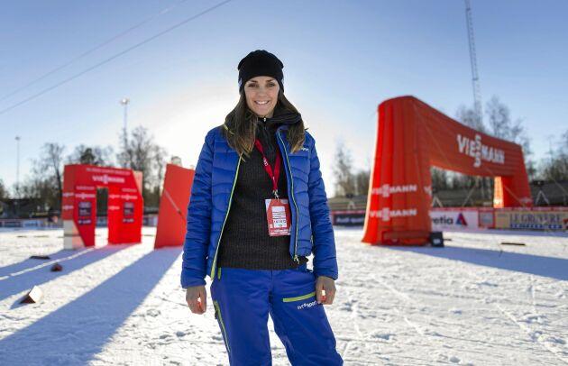 Johanna Ojala är en av de mest uppskattade experterna i SVTs Vinterstudion.