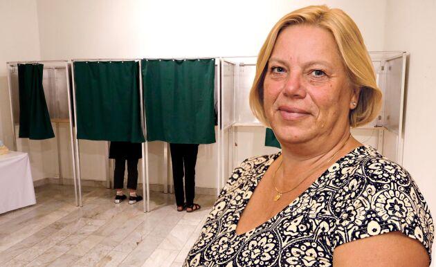 Lena Johansson, politisk chefredaktör.