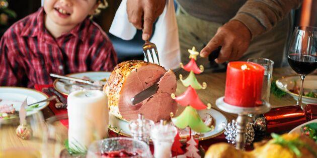 Måltidsforskaren: Så tjockt ska julskinkan skivas