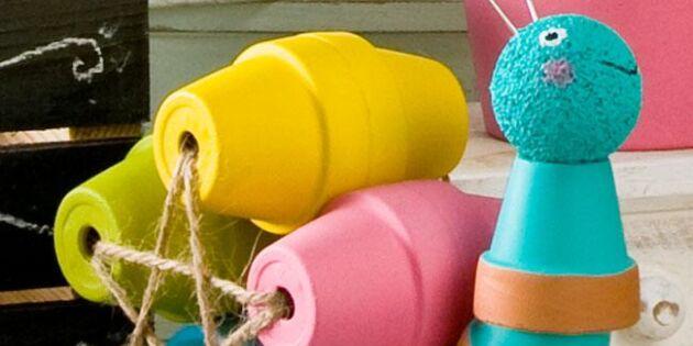 Pynta trädgården med krukor – 14 krukfigurer att göra själv
