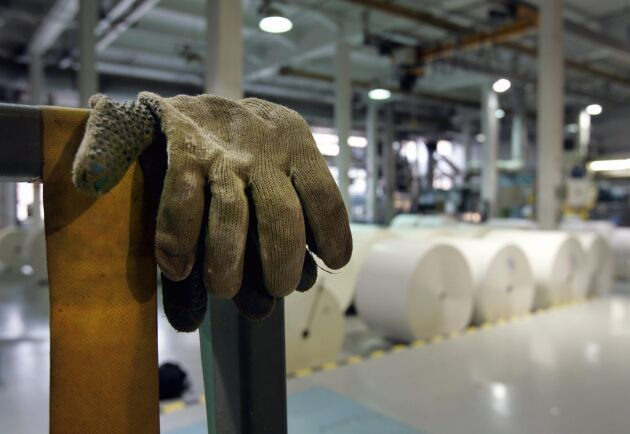 Pappersbruken i Finland står stilla. Arkivbild.