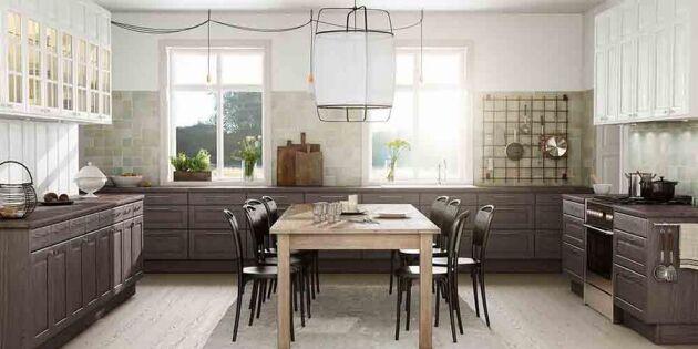 8 moderna lantkök! Här är höstens härliga köksnyheter