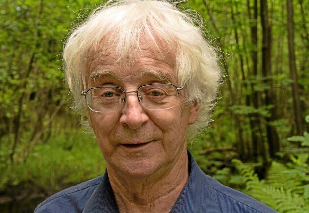 Göran Hartman leder nätverket Tivedens vänner som arbetar mot utrivningarna.