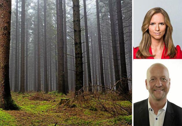 Kristdemokraterna vet hur viktig skogen är för Sverige och klimat, skriver Magnus Oscarsson och Sara Skyttedal.