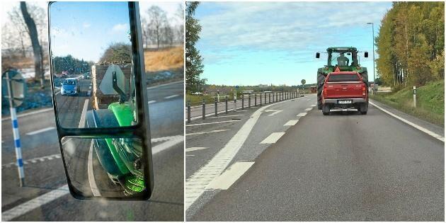 Maskiner får inte plats på nya säkra vägar
