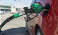 Bensin 40 öre dyrare än diesel