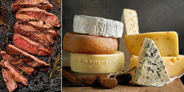 WWF ger nya råd: Tänk på det här när du väljer kött och ost