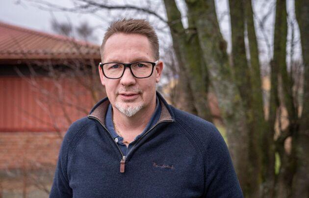 Jörgen Martinsson, vd på Svensk Mink.