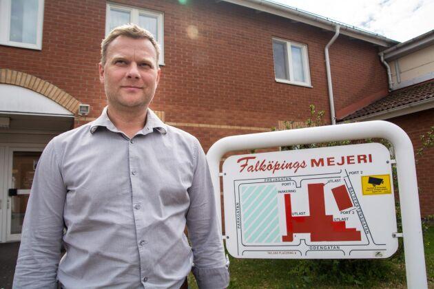 Falköpings Mejeri kommer enligt VD Anders Segerström att ta in nya leverantörer för att öka sin mjölkvolym. Det gäller anläggningarna i både Falköping och Grådö.