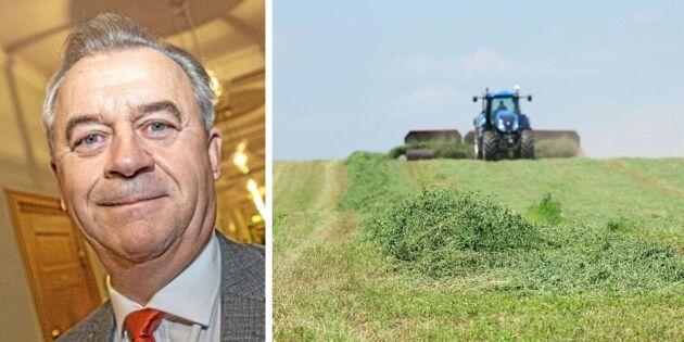 Nytt besked: EU tillåter fodergräs från trädor