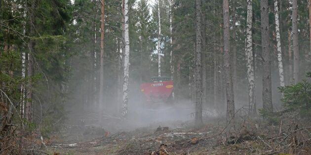 Aska i kulform ska öka spridningen
