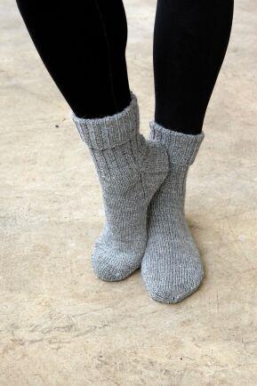 Vill du lära dig sticka sockor? Börja här.