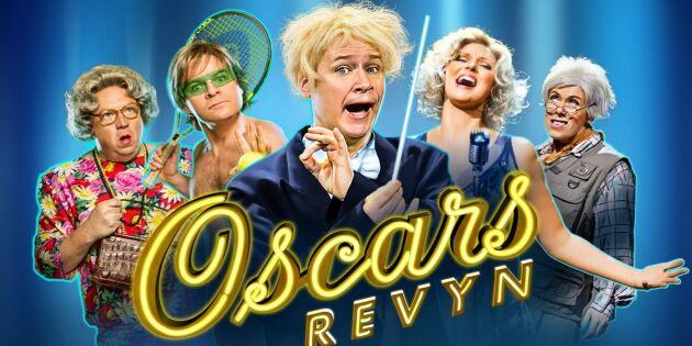 AVSLUTAD: Missa inte Oscarsrevyn - ta chansen och vinn biljetter!