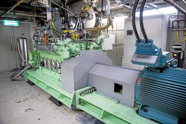 Sjöfart. Sjöfarten är intresserad av att byta ut bunkerolja mot metanol och i motorlabbet har man möjlighet att experimentera med större motorer.