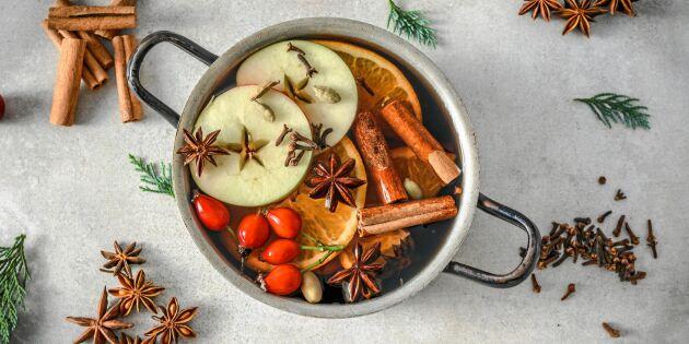 Så kokar du juldoft på spisen som sprider stämning i huset