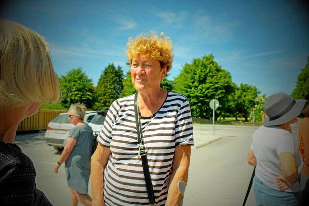 """Birgitta Frejhagen, 76, ligger bakom initiativet Gretas gamlingar. """"Vi kände att nu behöver vi göra något"""", säger Birgitta."""