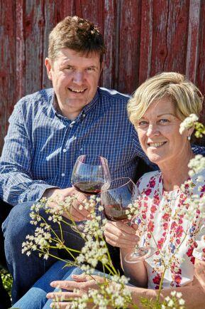 Vinerna i Eriks och Susannes bar importerar de själva direkt från Italien.