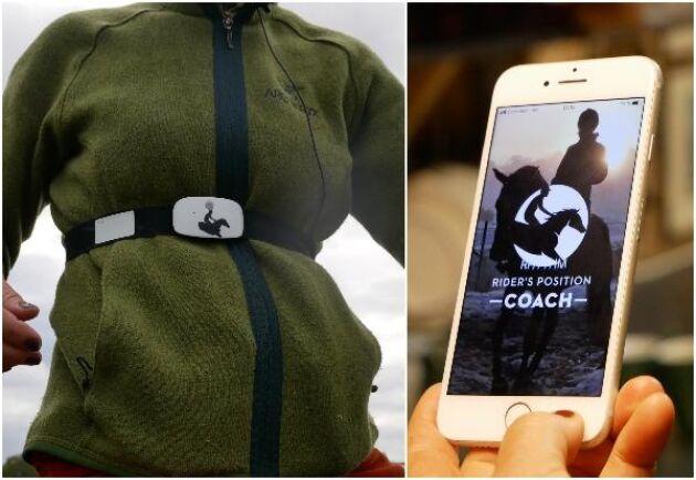 Ett speciellt bälte och en mobiltelefon är allt som behövs för att få tillgång till en detaljerad sitsanalys.