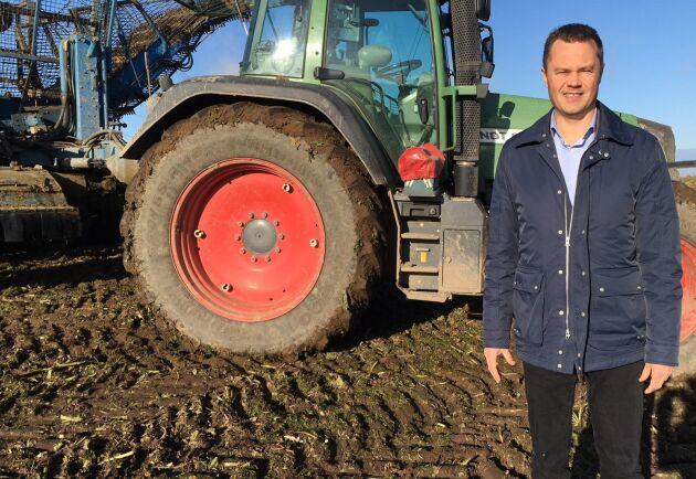 Magnus Andersson, rådgivare hos Swedbank och Sparbankerna, har alltid levt nära landsbygsföretagande.