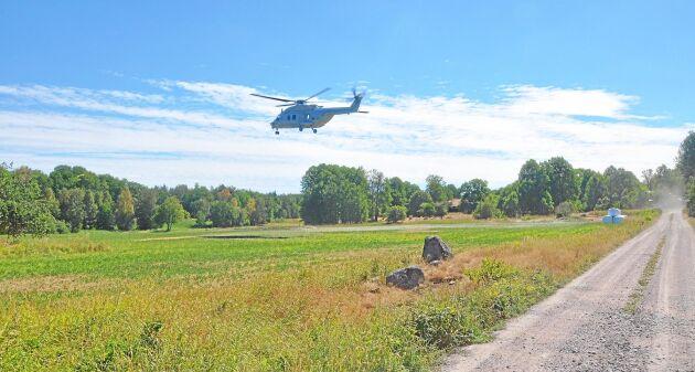Utnyttja de svenska helikopterresurserna i första hand i stället för förstärkning från utlandet, när det kommer till att bekämpa skogsbränder. Det anser debattörerna.