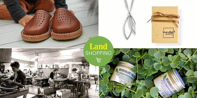 Därför är det bra att längta! 10 hållbara köp från Land Shopping