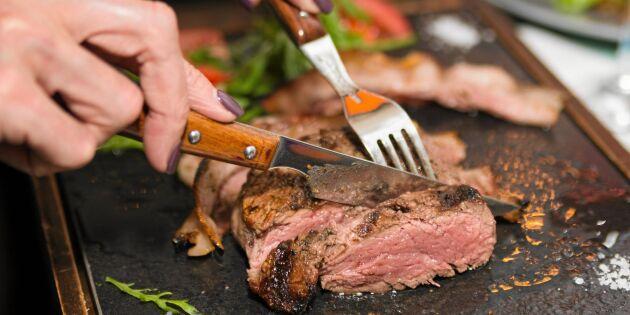 Brist på nötkött i Sverige - fler lagar mat hemma