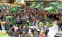 Agritechnica laddar för jordbruksboomen
