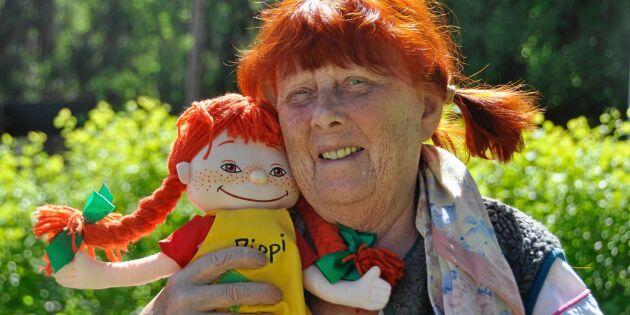 Sonja, 86, var förebild till Pippi Långstump