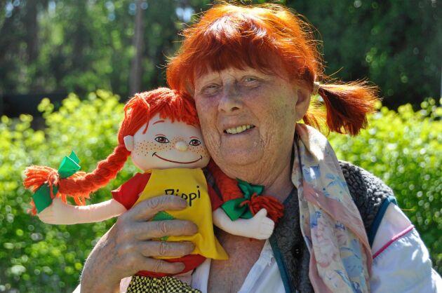 Stark, egensinnig och snäll. Sonja och Pippi har mycket gemensamt. Förutom fräknarna och hårfärgen.