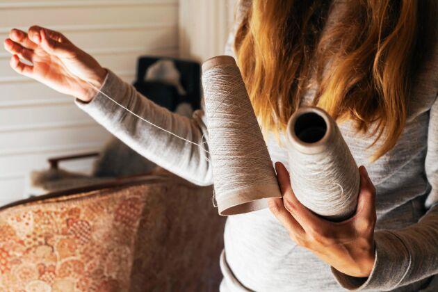 Lisa vill ta till vara den svenska ullen och ändra det faktum att cirka 840 ton ull slängs varje år i Sverige.