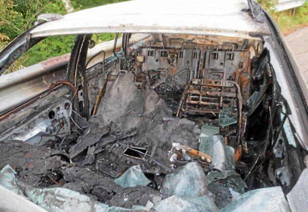 Bilbränder är ett av de grövsta påtryckningsmedlen som militanta djurrättsaktivister använder sig av för att upp nå sina mål. Bilden är tagen vid ett annat tillfälle.