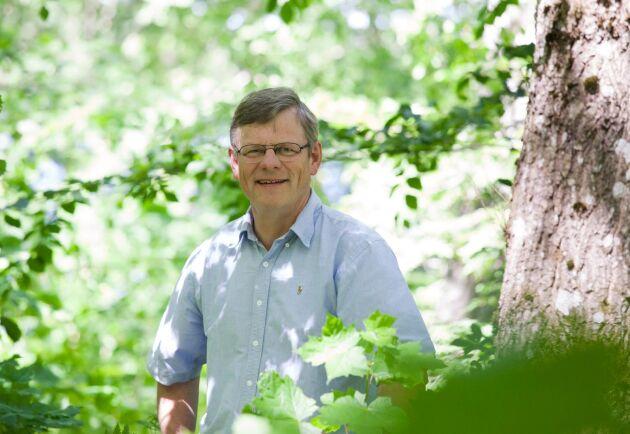 Göran Örlander, Skogforsks styrelseordförande.