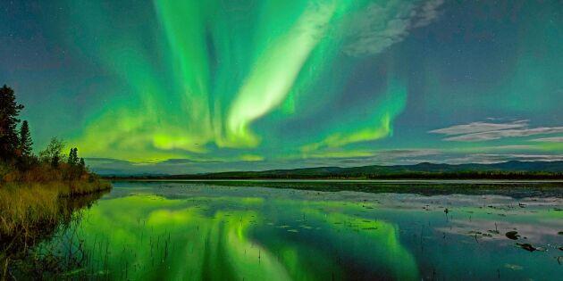 Nu är det säsong för norrsken – så ökar du chansen att se det!