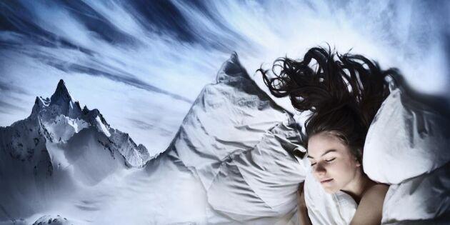 Detta avslöjar 4 vanliga drömmar om din hälsa!
