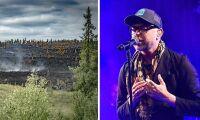 Drabbade skogsägare stöds med gratiskonsert