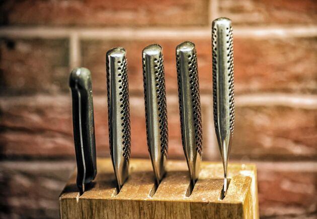 En välskött kniv håller i många år framöver. Så här tar du hand om kniven på rätt sätt!