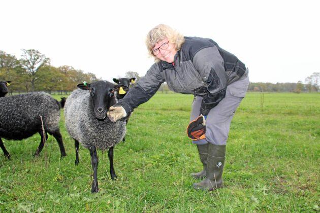 Anna Törnfelt är har nöt och lamm på sin gård. Hon tror att lantbrukarna på Gotland är mer redo än de flesta.