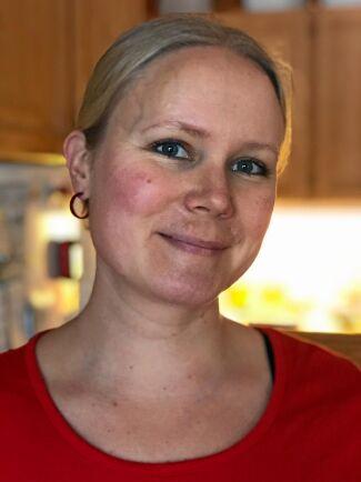 Johanna Hedqvist är med och organiserar Klädbytardagen i Karlstad den 6 april 2019.