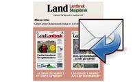 Land Lantbruk som e-tidning i din mail