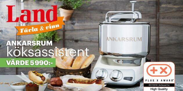 AVSLUTAD: Tävling om köksmaskin – här är vinnaren