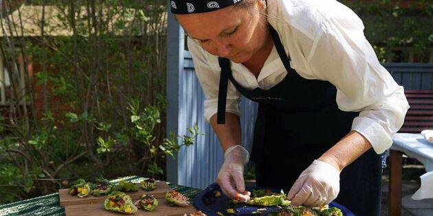Video: Leila Dahlborg lagar vegetarisk caponata av gamla grönsaker
