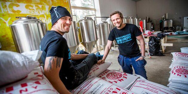 Möt bröderna som startade bryggeri – och äventyrspark