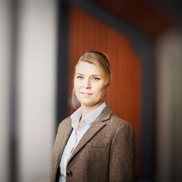 Camilla Backlund är arbetsmiljöexpert på Grönaarbetsgivare.