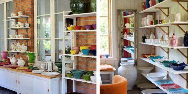 Jeanettes färgsprakande keramik säljer slut direkt!