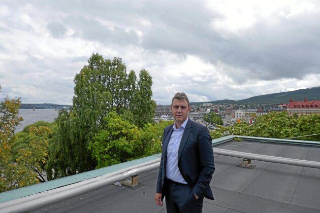 Ulf Larsson har jobbat inom SCA sedan 1992.