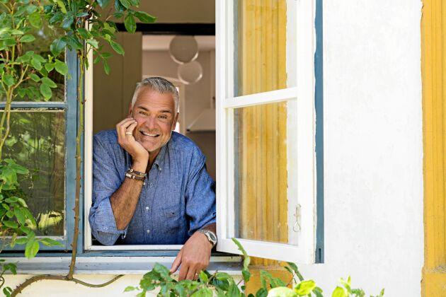 Ernst Kirchsteiger kommer att renovera den skånska gården enligt traditionella metoder.