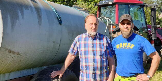 Far och son vann kampen mot branden – med urin