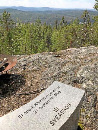 Käringbergets Ekopark i Västerbotten.