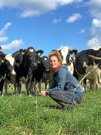Hanna Karlsson driver Bondbönans blogg och är mjölkbonde på Öland.