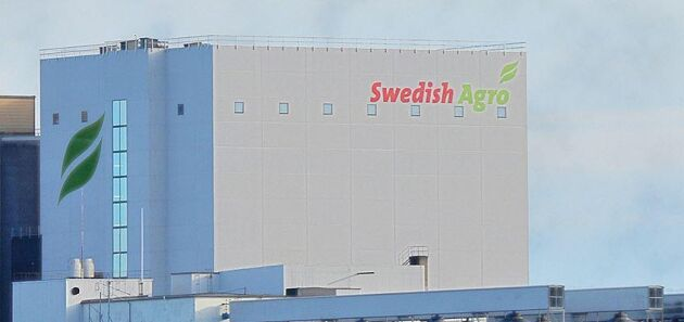 Danish Agro-koncernen har flera verksamheter i Sverige. Bilden är från Kalmar Lantmän som Swedish Agro övertog i februari 2016.